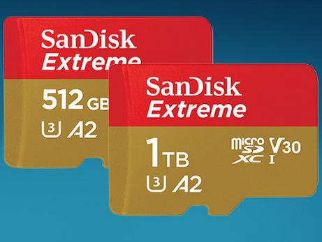 SanDisk commercialise sa microSD de 1 To, et la facture s'annonce salée
