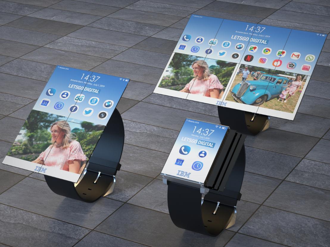 IBM met une tablette dans une montre connectée