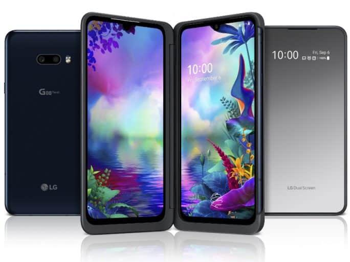 G8X ThinQ : LG pousse les smartphones à deux écrans