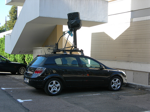 google street view - Google Car
