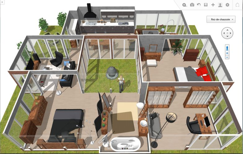 homebyme by 3dvia dassault syst mes explore l 39 am nagement int rieur en 3d. Black Bedroom Furniture Sets. Home Design Ideas