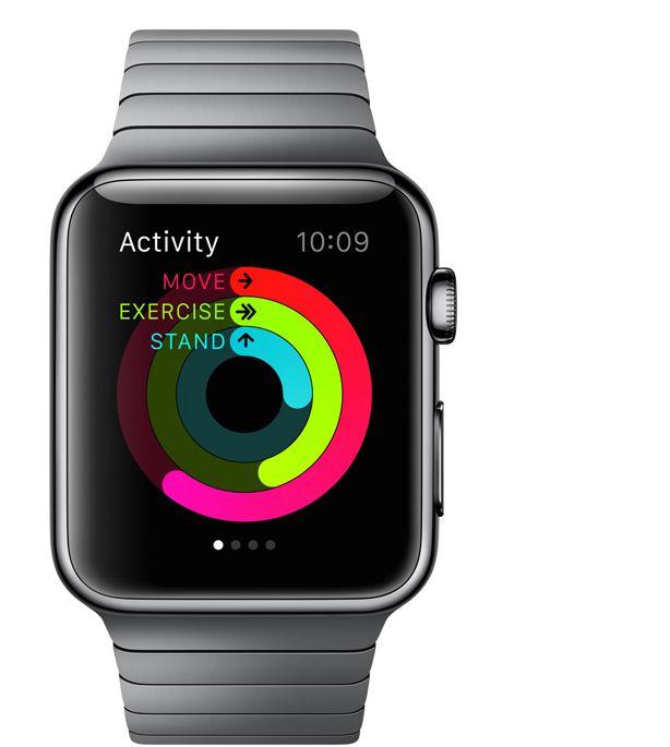 Apple Watch : applications d\'activité