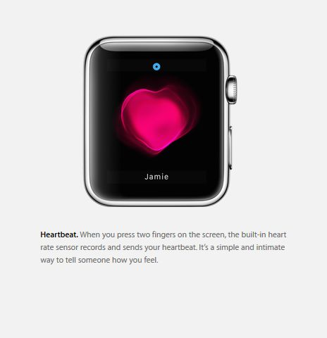 Apple Watch : sens-tu mon coeur battre  ?