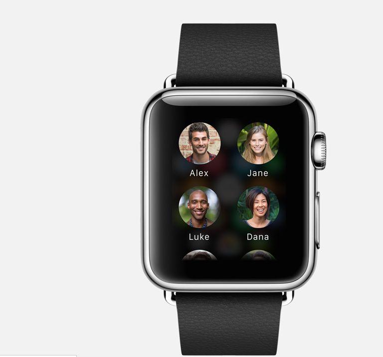 Apple Watch : cercle d\'amis