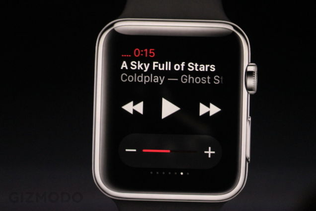 Apple Watch : navigation