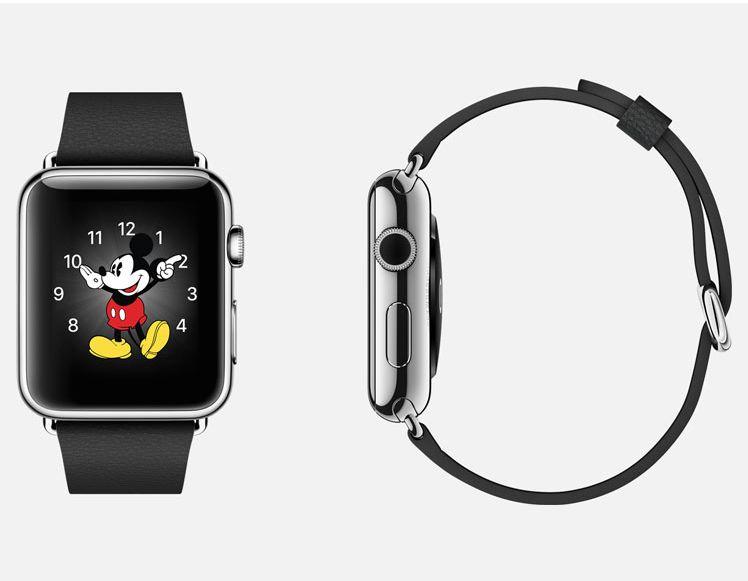 Apple Watch : salut Mickey